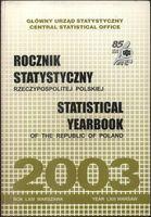 Rocznik statystyczny Rzeczypospolitej Polskiej 2003 praca zbiorowa