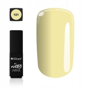 Silcare lakier hybrydowy Flexy 4,5g kolor 101