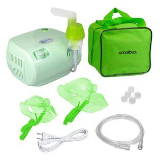 Inhalator nebulizator dla dzieci i dorosłych OMNIBUS BR-CN116 Seledyn