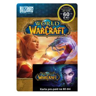 World Of Warcraft 60 DNI PrePaid EU WOW Klucz Kod