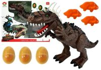 Dinozaur Na Baterie Składający Jaja Brązowy