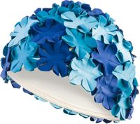 Czepek pływacki BLOOM Kolor - Czepki - Bloom - 5 - niebieski multikolor