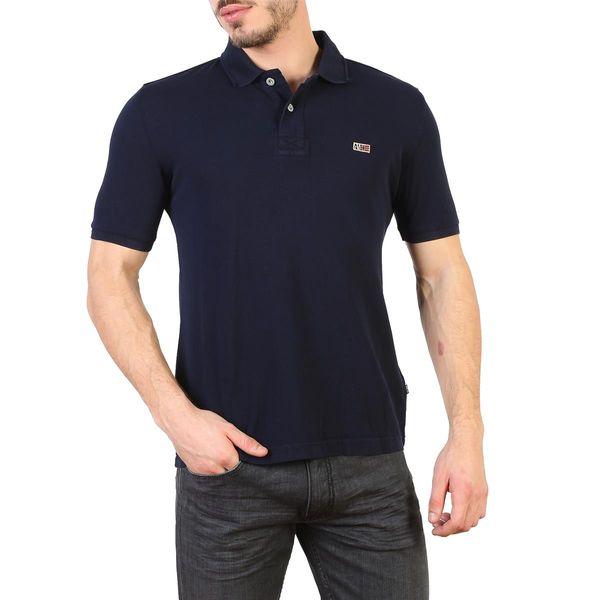 Napapijri koszulka męska polo niebieski L zdjęcie 1