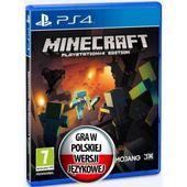 MINECRAFT Edition PS4 PL NOWA