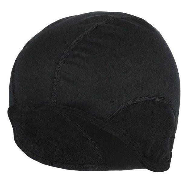 Czapka kolarska Softshell czarna - r. L/XL zdjęcie 1