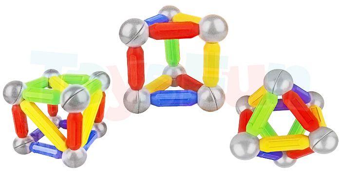 Ultimar: Klocki magnetyczne dla najmłodszych: 36 elementów zdjęcie 3