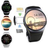 Smartwatch zegarek bluetooth pulsometr karta sim microsd KW18