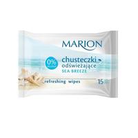 Marion Chusteczki odświeżające Sea breeze 15szt
