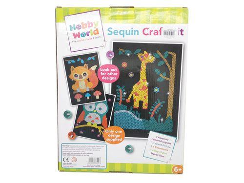 Zestaw kreatywny Sequin Kit Hobby World cekiny na Arena.pl