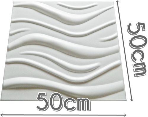Dekoracyjne Panele Ścienne 3D Kasetony Sufitowe WAVE na Arena.pl
