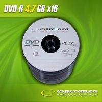DVD-R ESPERANZA 16x 4,7GB (Spindle 100)
