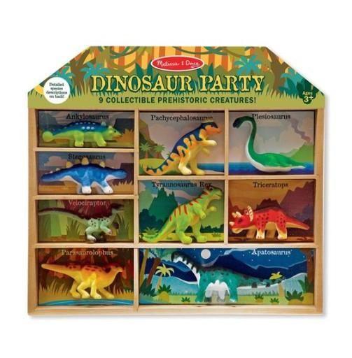 Zestaw 9 figurek Dinozaury Melissa and Doug zdjęcie 1