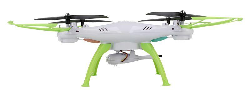 Dron Syma X5HW kamera Wi-Fi funkcja zawisu Gogle VR 3D Biały Y142GB zdjęcie 4