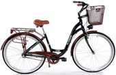 Kozbike Rower miejski 28 damski damka 3biegi ALUMINIUM 10-04 +kosz