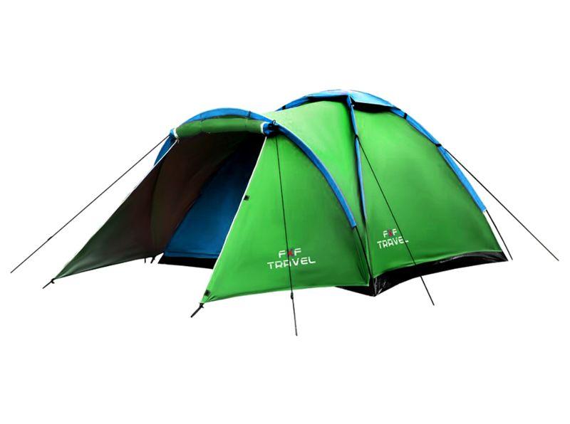 Namiot Iglo Turystyczny 4os Wytrzymały 210x180cm zdjęcie 1