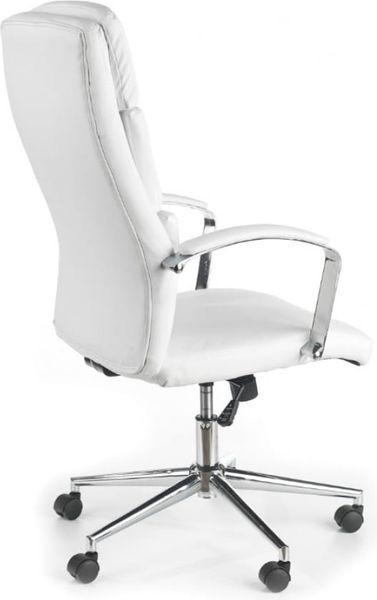 Fotel Biurowy Obrotowy Do Biurka Biały Aurelius