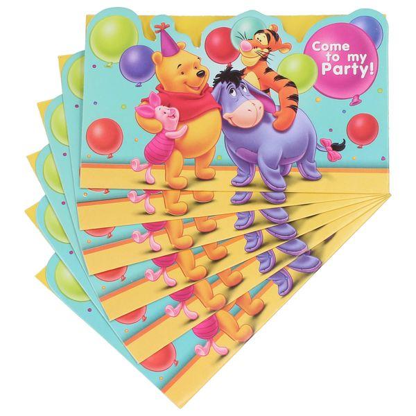 Zaproszenia Na Urodziny Dla Dzieci Disney 6 Szt Arenapl