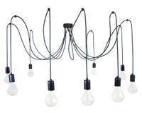 LAMPA WISZĄCA PAJĄK 9 czarny lub w dowolnej kolorystyce i rozmiarze