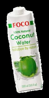 100% Naturalna woda kokosowa 12x1L Foco