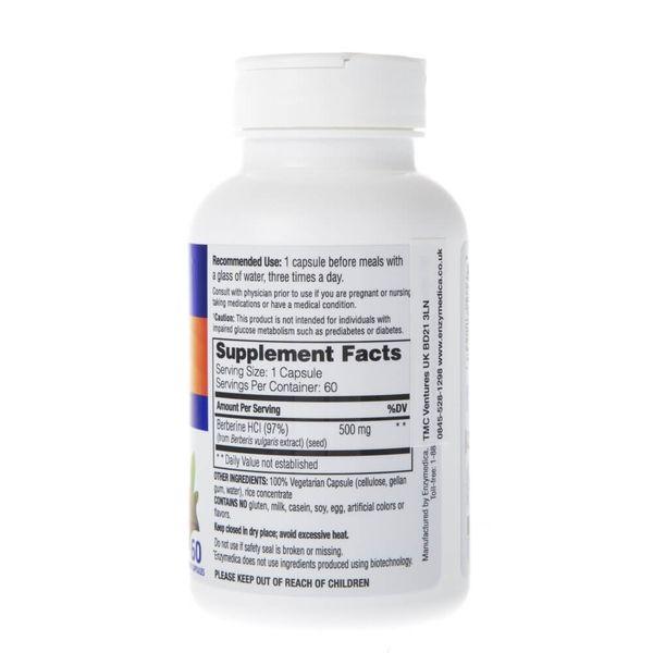 Enzymedica Berberyna 500 mg - 60 kapsułek zdjęcie 4