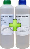 Gliceryna Roślinna + Glikol Propylenowy Zestaw 2l