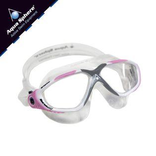 Gogle pływackie VISTA LADY Kolor - Aqua Sphere - Vista Lady - MS175111 - biały / różowy / jasne szkła