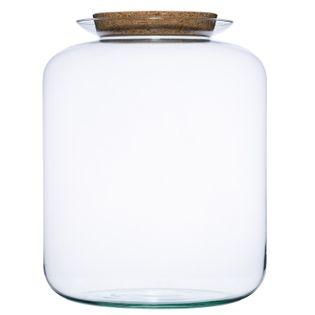 Szklany wazon słój W-524F+korek H:45cm D:35cm