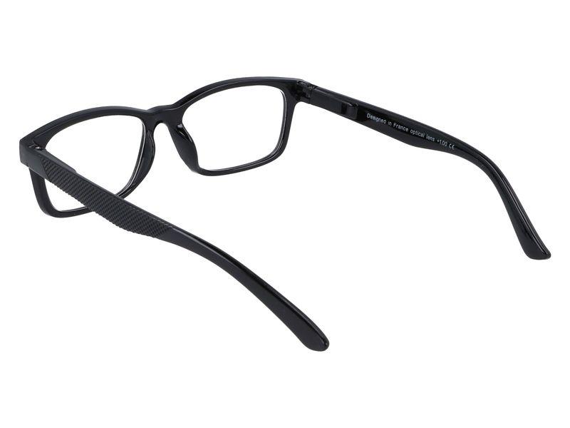 Korekcyjne okulary do czytania czarne plusy +3.50 zdjęcie 3