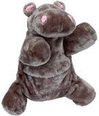 Termofor gumowy Sanity 700ml w pokrowcu Hipopotam