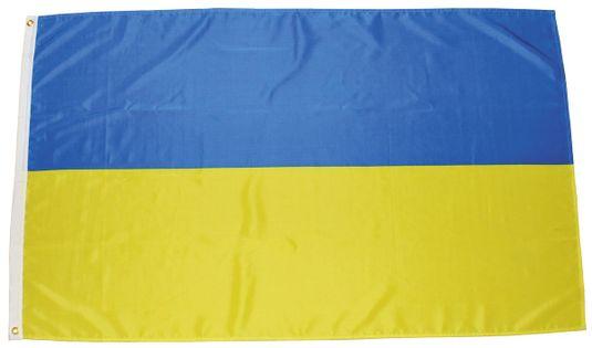 FLAGA UKRAINA 150 x 90 cm