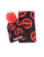 Zestaw prezentowy czapka i szalik Deadpool - Marvel