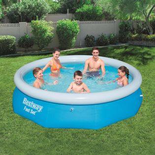 Lumarko Dmuchany basen Fast Set, okrągły, 305 x 76 cm, 57266!