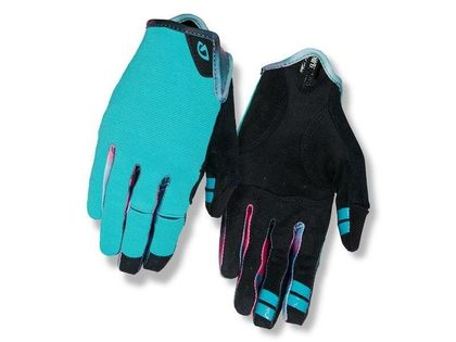Rękawiczki damskie GIRO LA DND długi palec glacier tie-dye roz. L (obwód dłoni 190-204 mm / dł. dłoni 185-195 mm) (DWZ)