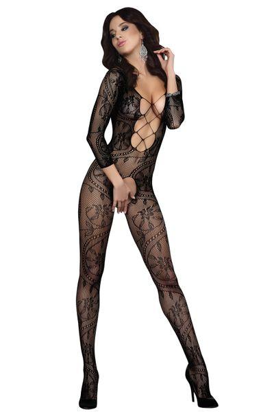Sexy Bodystocking Erotyczny Kombinezon z siatki Kabaretki rozm S-L zdjęcie 1