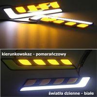 ŚWIATŁA DRL COB LED 20W dzienne + kierunkowskaz