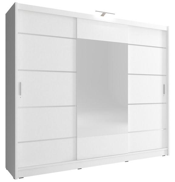 Szafa AWENA PLUS 250cm,garderoba,lustro,sypialnia,przedpokój 4 kolory! zdjęcie 2