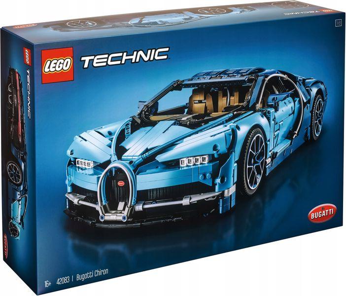 LEGO TECHNIC 42083 Bugatti Chiron zdjęcie 1