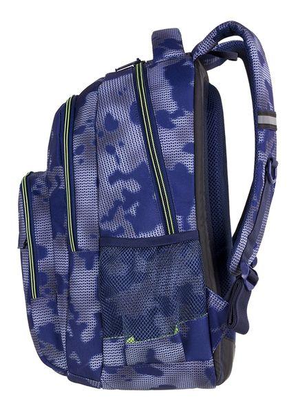 12068821ac413 Plecak CoolPack BASIC PLUS niebieski z zielonymi dodatkami, MISTY GREEN  (84892CP) zdjęcie 4