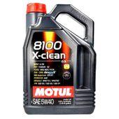 OLEJ SILNIKOWY MOTUL 8100 X-CLEAN 5W40 5L DPF