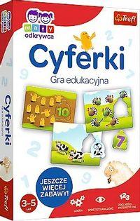 Trefl gra edukacyjna Cyferki dla przedszkolaka