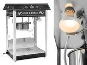 Maszyna do popcornu czarna amerykański design Royal Catering RCPS-16.2