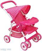 WÓZEK wózki DLA LALEK LALKOWY SPACERÓWKA BABY MIX
