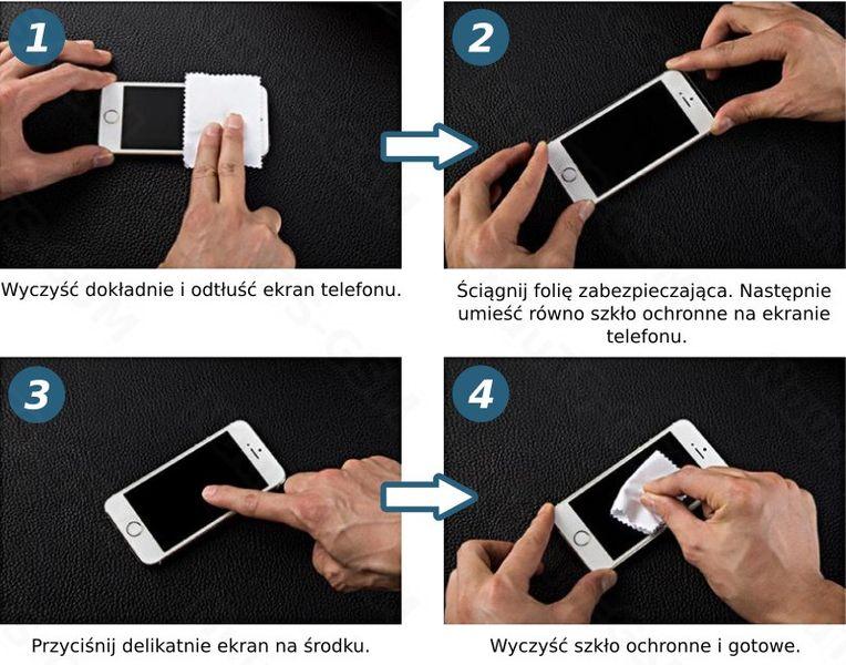 Szkło hartowane  apple Iphone 7/8 oryginał 9h pokrowiec zdjęcie 3