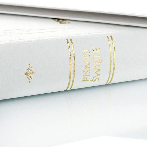 PISMO ŚWIĘTE BIBLIA PREZENT CHRZEST GRAWER zdjęcie 3