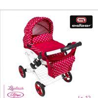 ADBOR Super Wózek lalkowy głęboki dla lalek LILY kolor 12