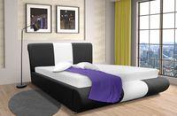 Łóżko tapicerowane Montana 160x200 stelaż pojemnik