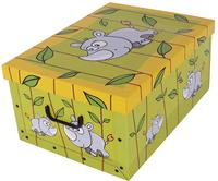 Pudełko Kartonowe Midi Sawanna Nosorożec