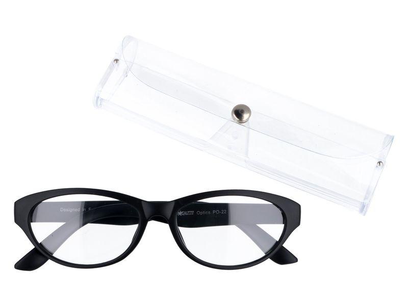 Damskie zastępcze okulary do czytania plusy kocie +2.50
