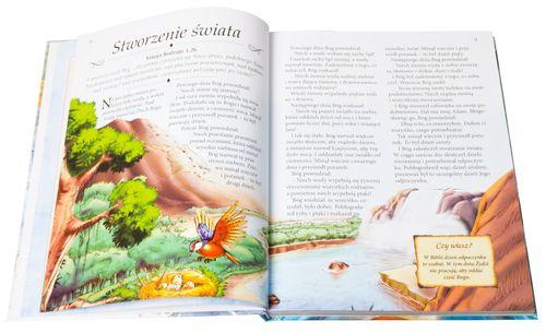 ILUSTROWANA BIBLIA DLA DZIECI z grawerem PREZENT NA CHRZEST KOMUNIĘ na Arena.pl