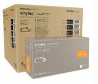 Rękawice winylowe vinylex powdered XS karton 10 x 100 szt